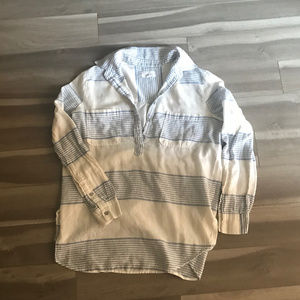 Lou & Grey Striped Casual Shirt